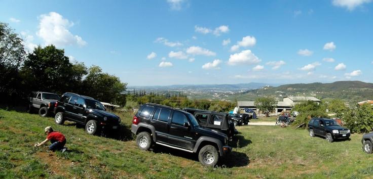 Alcuni degli scatti più belli del raduno Fergia Jeep