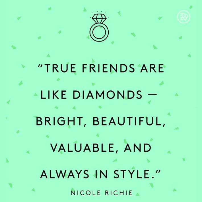 Quotes On Friendship: 25+ Best Diamond Quotes On Pinterest