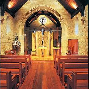 St Stephens Chapel: is the oldest Catholic church in Queensland and has a piece of Saint Mary Mackillop's coffin set into the stone floor #boh2014 #unlockbrisbane #brisbane #discoverbrisbane