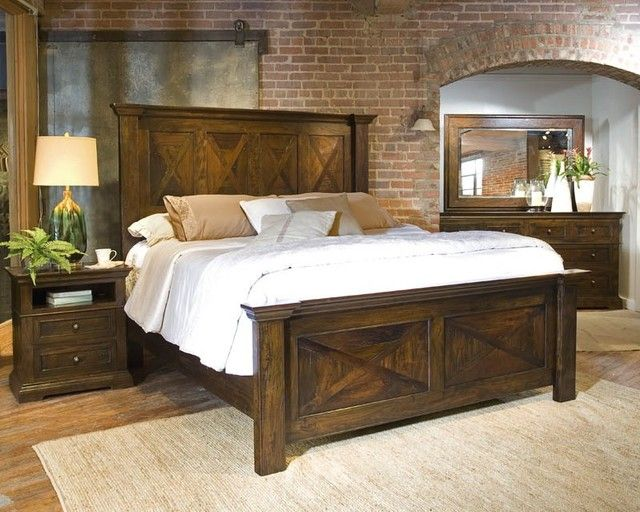 Contemporary Rustic King Size Bedroom Sets Decorating Ideas