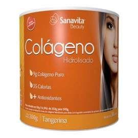 Colágeno Sanavita Tangerina 300g