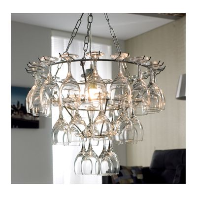 dwell - Wine glass chandelier - £199 | Wine glass ...