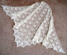 Шаль Цветочная корзина / Flower Basket Lace Shawl | Knitting club // нитин клаб