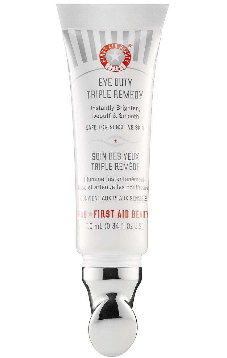 The best product for concealing dark eye circles. // Eye Duty Triple Remedy by First Aid Beauty