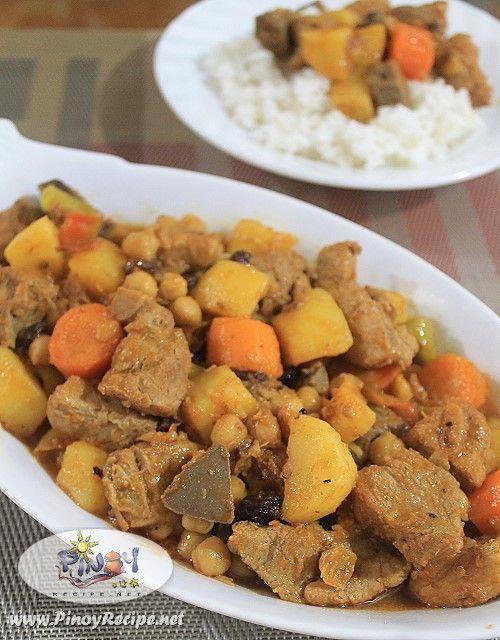 Pork Menudo Recipe by Filipino Recipes Portal