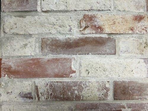 Reclaimed Thin Brick Veneer - Thin Brick Veneer, Brick Backsplash ...