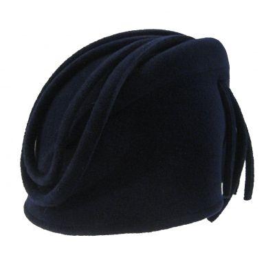 Céline Robert Hat - Daphnee grand bibi - taupe turban
