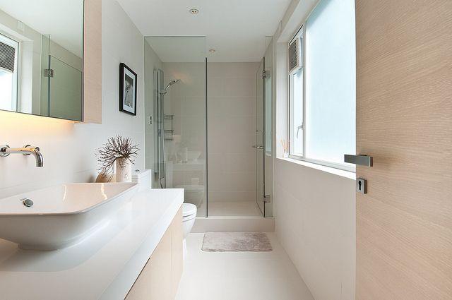 :: BATHROOMS :: Guest bathroom - Evergreen Villa. Interior design by lui design & associates www.luidna.com photography by dennis lo www.dennislo.com #bathrooms