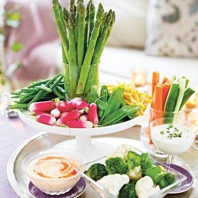 Bild på Grönsaker med dipp