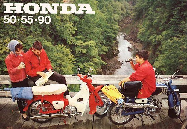 Honda 50 • 55 • 90