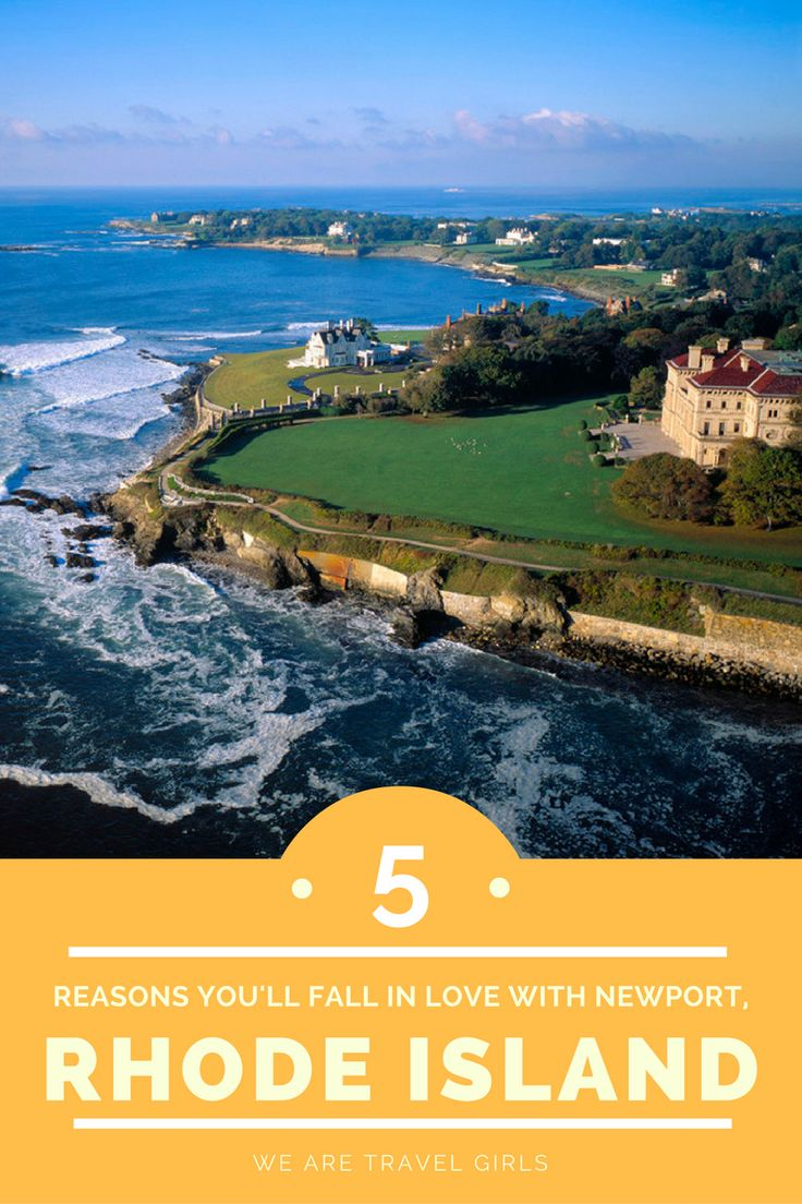 5 REASONS YOU WILL FALL IN LOVE WITH NEWPORT, RHODE ISLAND - The New England town of Newport, Rhode Island is charming to say the least. Set on the water, fishing remains a way of life for locals and sailing is just about everyone's favorite hobby. The smell of salt water reminds you that delicious seafood is on every menu, whether you fancy a warm cup of chowder or raw oysters fresh from the sea. Top 5 reasons to visit by Lindsay Ridenour for WeAreTravelGirls.com