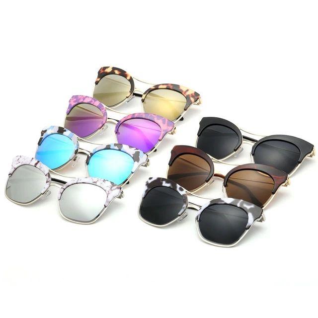 Aevogue кошачий глаз марка очки с женщины летний стиль солнцезащитные очки óculos De Sol Feminino gafas-де-сол UV400 AE0271