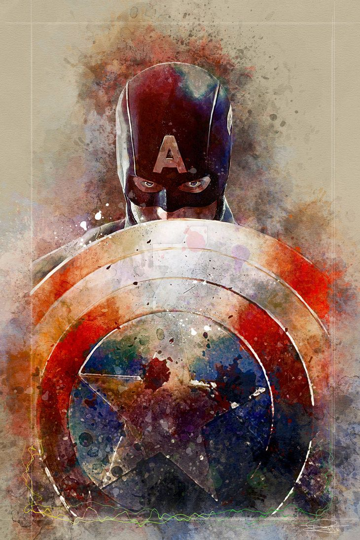 Captain America by Daniel Murray