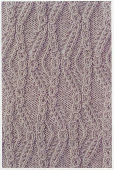 Lace Knitting Stitch #66 | Lace Knitting Stitches