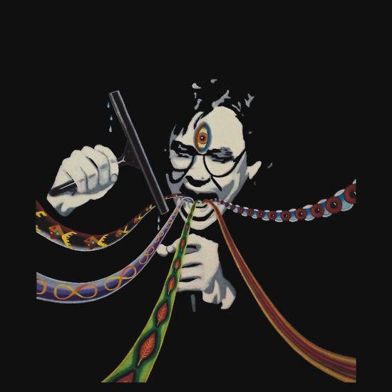 """Bill Hicks third eye squeegee"" T-Shirts & Hoodies by simonmeola | Redbubble"