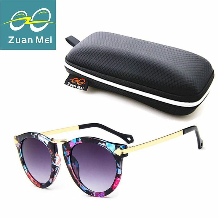 Zuan Mei Vintage Round Sunglasses Women Brand Eyewear UV400 Female Retro Sun Glasses Womens Oculos De Sol Feminino Gafas R8888  #love #instafashion #swag #streetstyle #sweet #fashionista #instalike #beautiful #styles #dress
