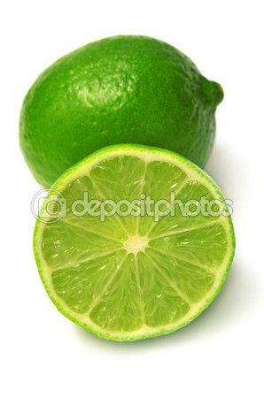 Citrus vápno ovoce a řez