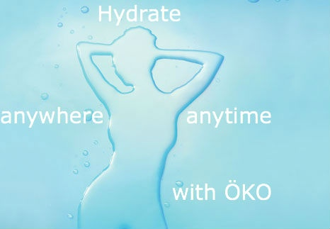 Hydrate with ÖKO anywhere, anytime!