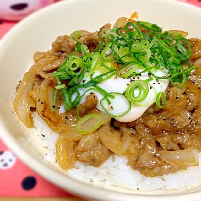 昨日の豚肉の残りと玉ねぎを使ってマヨ豚丼を作りました◡̈♥︎ - 60件のもぐもぐ - マヨ豚丼 by sakurapandasan