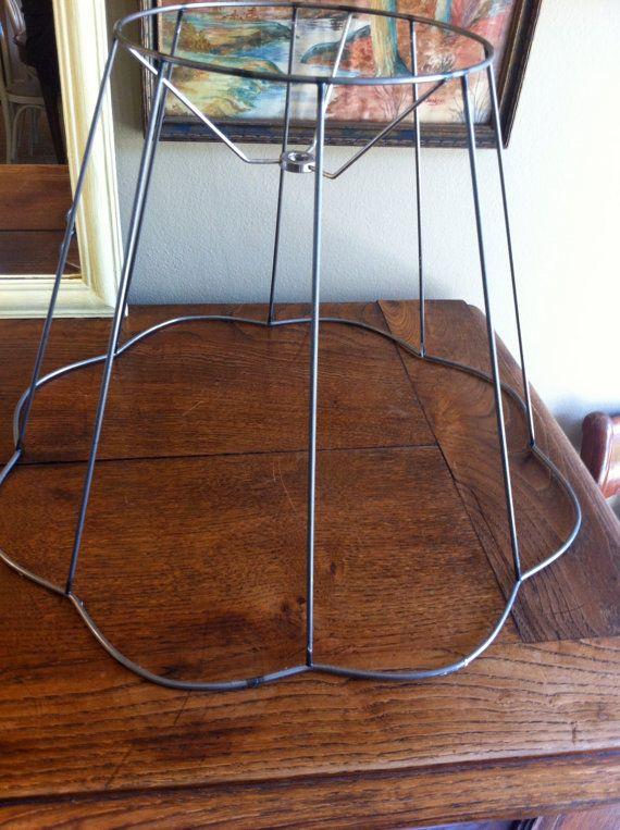 best 25 lamp shade frame ideas on pinterest old lamp. Black Bedroom Furniture Sets. Home Design Ideas