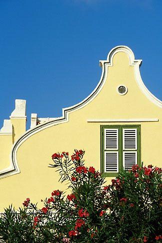 Curacao, Willemstad, Dutch architecture