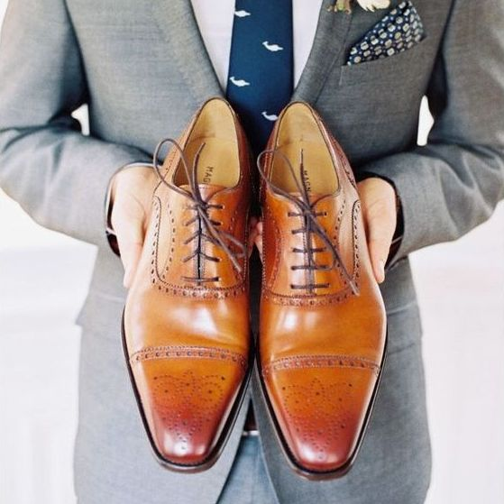 The Best Simple Men Wedding Shoes Inspiration For You