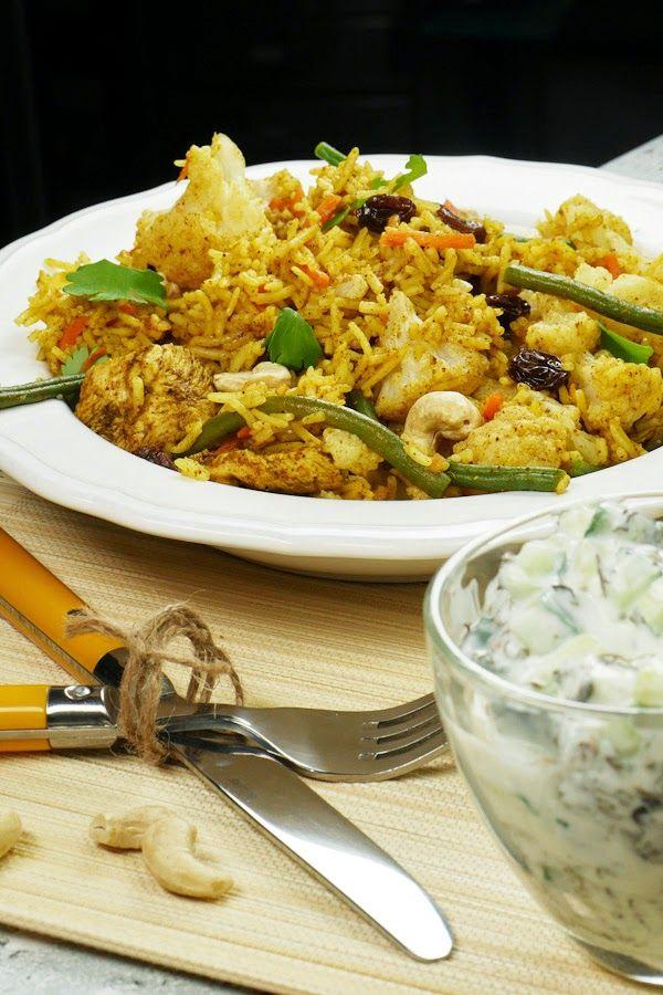 Indische Biryani Reis Pfanne von Reishunger Rezept