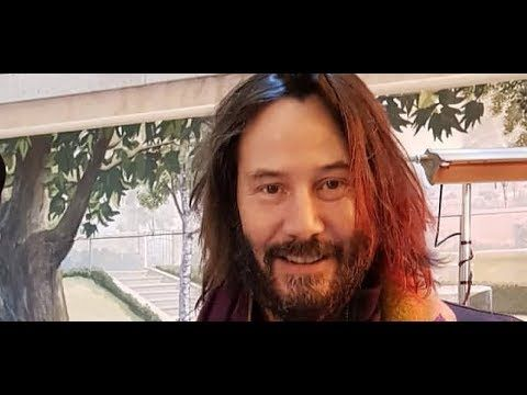 Keanu Reeves Morning Friday, January 19, 2018 - YouTube