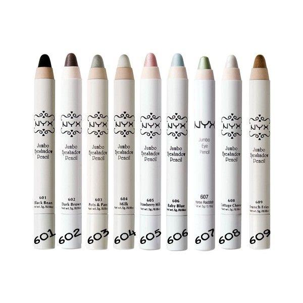 NYX Jumbo Eye Pencil er både en øjenskygge og en eyeliner i et.