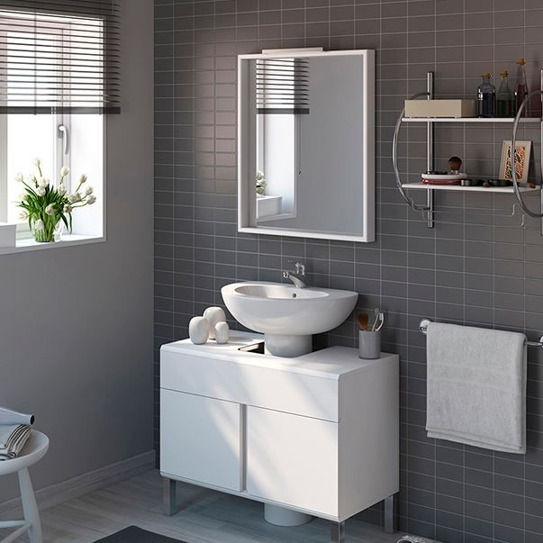 Mueble lavabo ikea pequeno 20170813070740 for Mueble lavabo pedestal