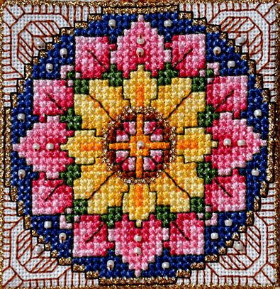 Have you discovered the Zen of Cross Stitch?  I have.   ~~  Houston Foodlovers Book Club