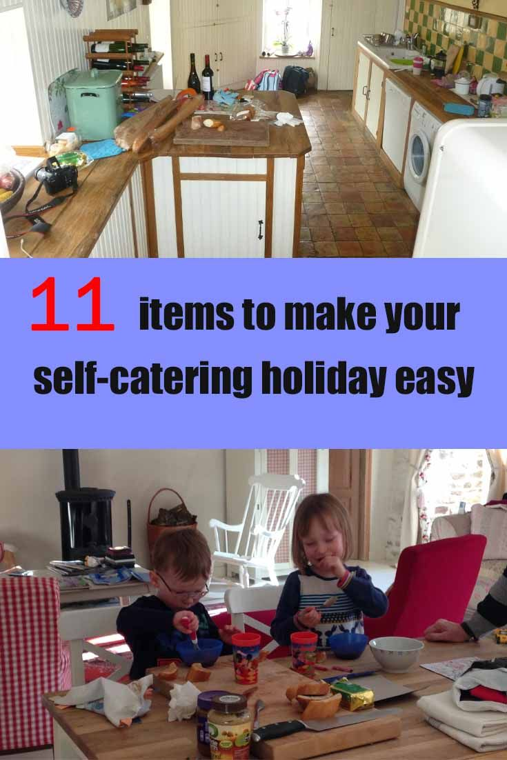 A collection of essential items to take on your self-catering holidays to ensure you travel better and avoid unnecessary holiday stress.