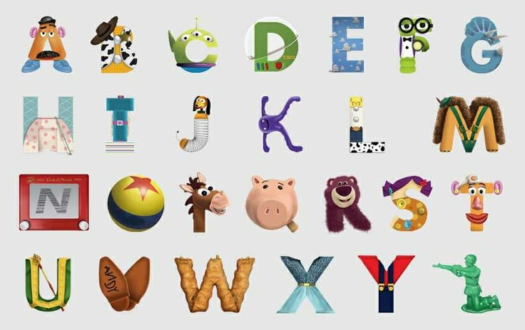 Toy Story Alphabet Cute Prints Pinterest Toys Toy Story And Alphabet