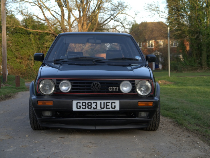 My Mk2 Golf
