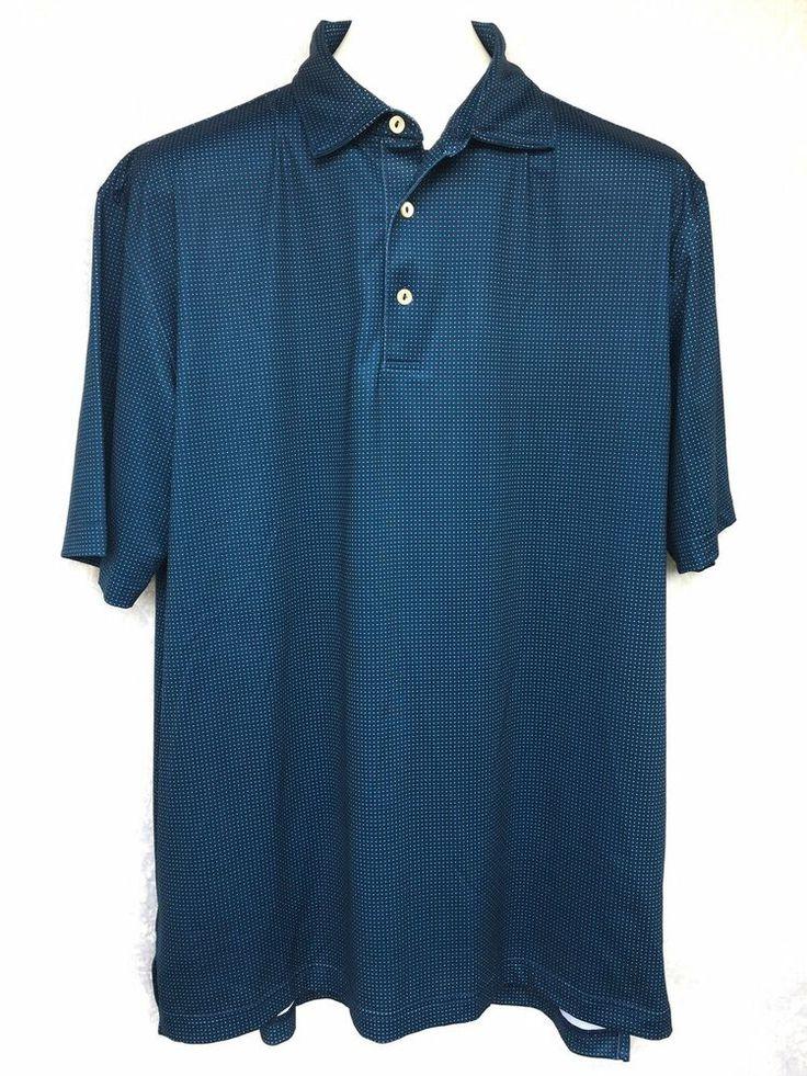 Peter Millar Summer Comfort Golf Shirt Boca Rio Course