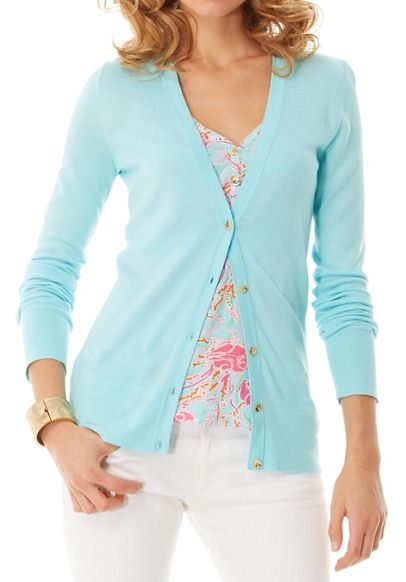 Lilly Pulitzer Kennedy V-Neck Cardigan