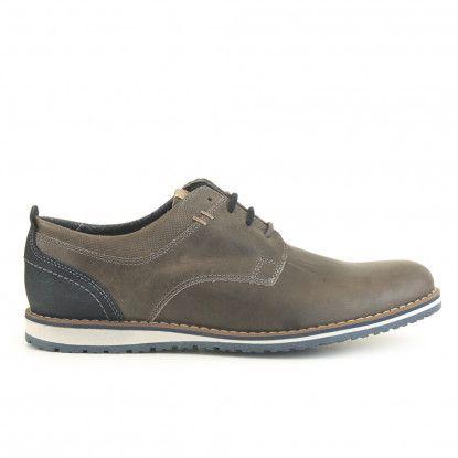 Zapato casual piel FOSCO Gris