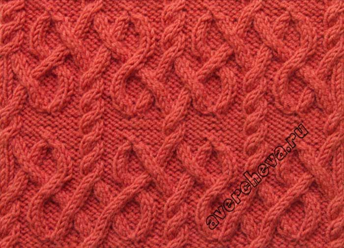 Cable Lace Knitting Stitches : 1111 best images about ??????? ????? on Pinterest Cable, Knit patterns and ...