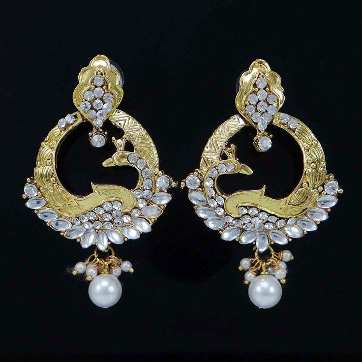 Bollywood Ethnic Dangle Earrings