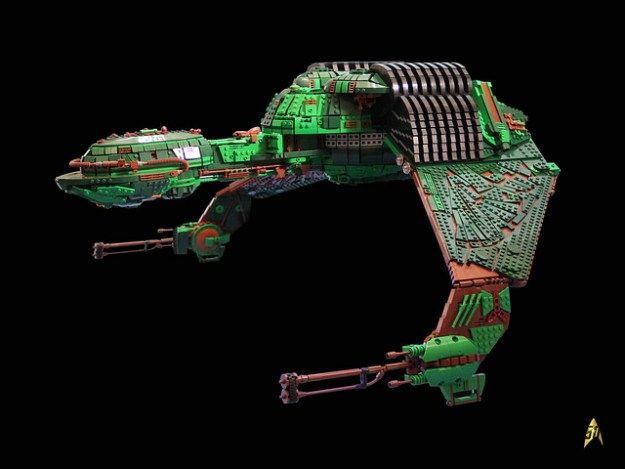 LEGO Klingon Bird Of Prey Build Took Six Years And 25,000 Bricks