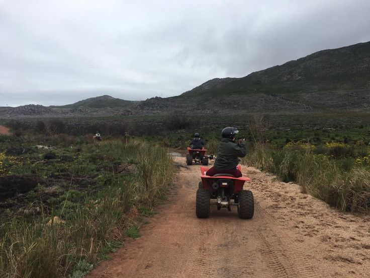 Quad Biking with SA Forest Adventures in Elgin - SA adventure summit