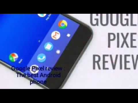 Google Pixel review :The best Android phone As soon as you get it in your hands the similarities with Apples phone are apparent. From the curved look of the aluminium casing to the choice of 5-inch or 5.5-inch screens. Even though the Pixel (and its larger brother the Pixel XL) were built by Taiwanese company HTC you wont find any evidence of it. This is billed as the first phone made by Google inside and out - from the carefully positioned fingerprint scanner to the latest version of…