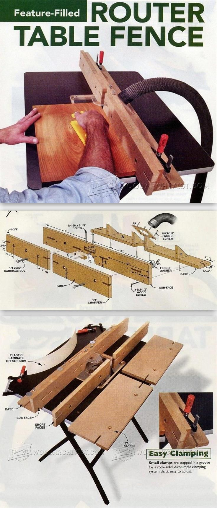 28 Best Oberfrseprojekt Images On Pinterest Tools Woodworking Cr4 Blog Entry Diy Trailer Hitch Wiring Solutions Part 2 Router Table Fence