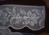 filet crochet edging - Bing Resimler