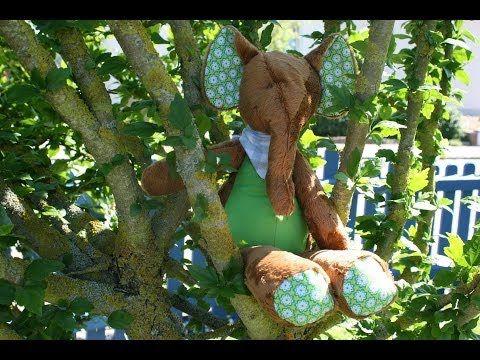 """Elefant """"Kumi"""" von Kullaloo nähen #haus mit dem rosensofa"""