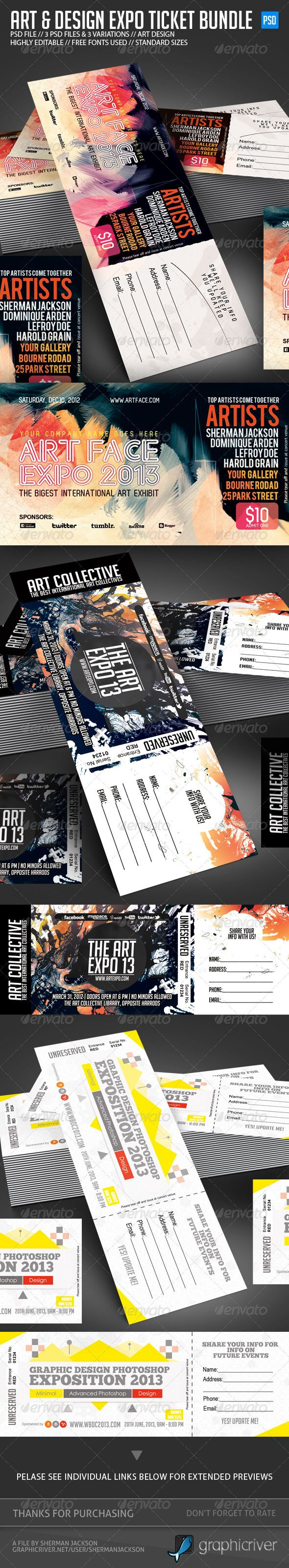 Design & Art Expo Show Passes/Tickets Bundle