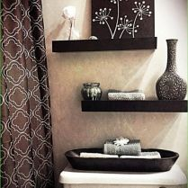 41 + Floating Shelves Bathroom Above Toilet Shelf Ideas The Story 64   – For the Home