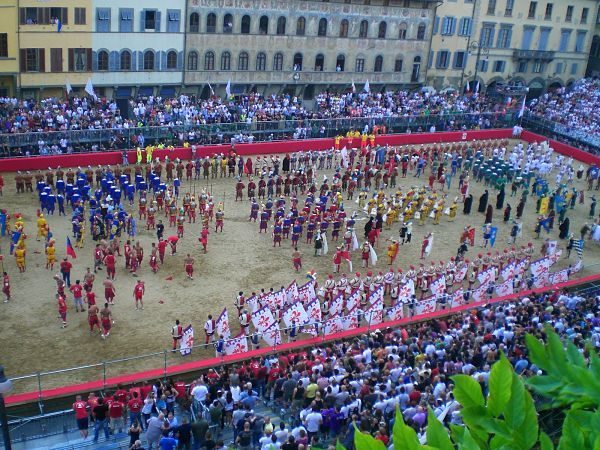 A Mixture of Rugby, Football and UFC: The Calcio Storico