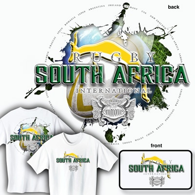 South Africa Rugby International ~ Rugby T shirt