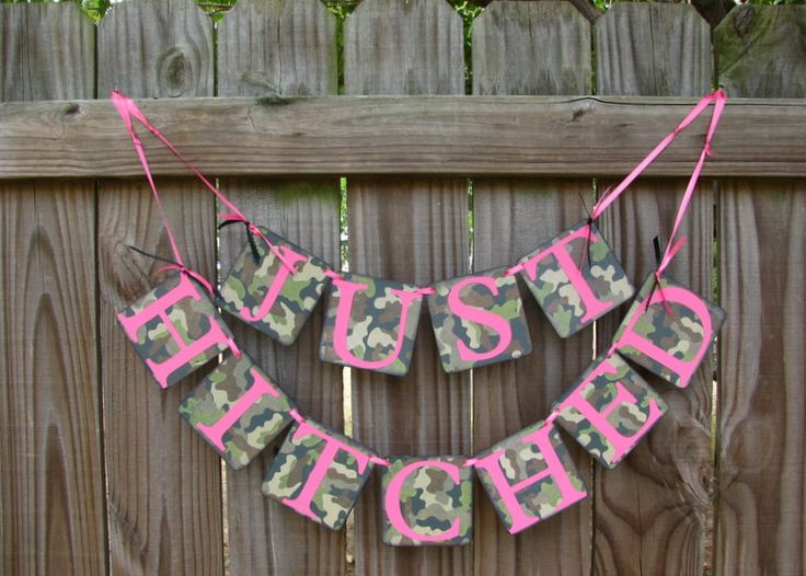26 best images about wedding ideas on pinterest mossy for Pink camo decorations